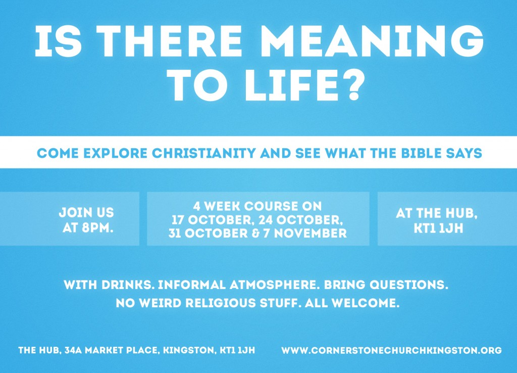 Article New Christianity Explored Course In Kingston Cornerstone